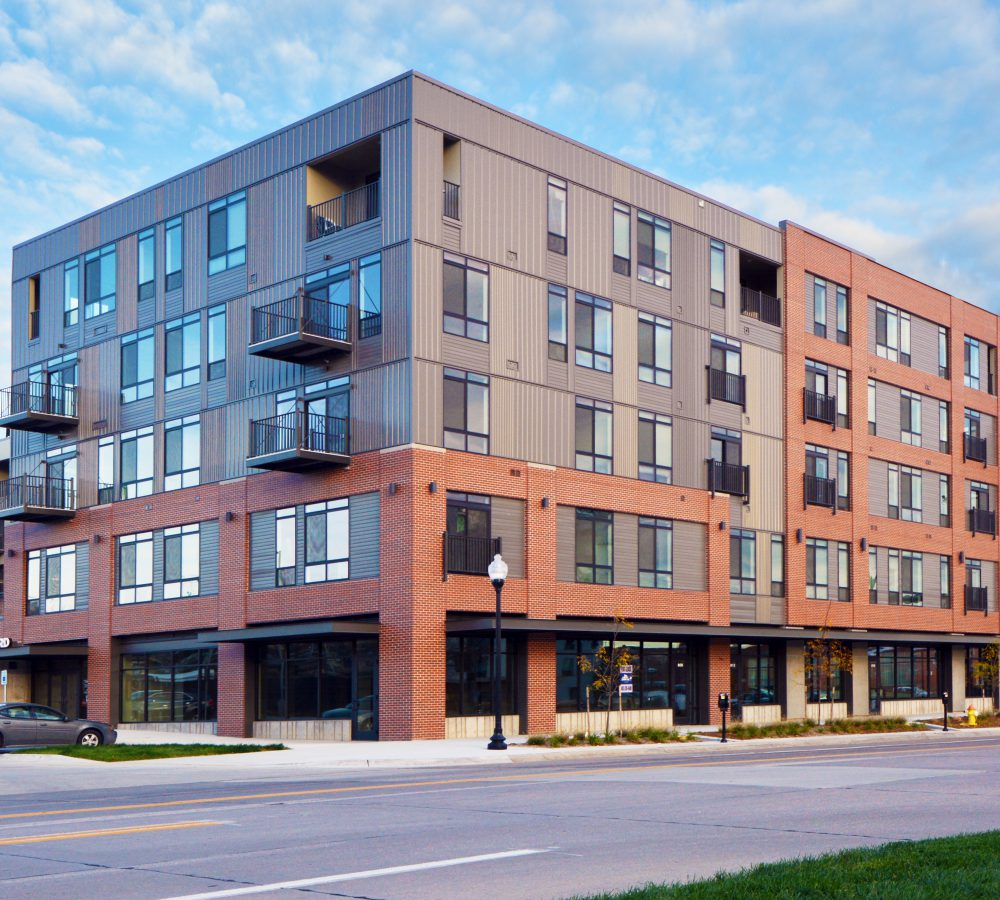 Exterior Street View of 1415 @ the Yard
