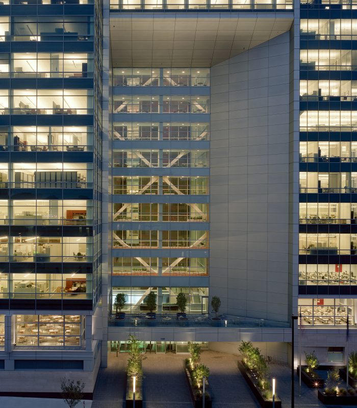 upc-entry-courtyard-with-illuminated-offices