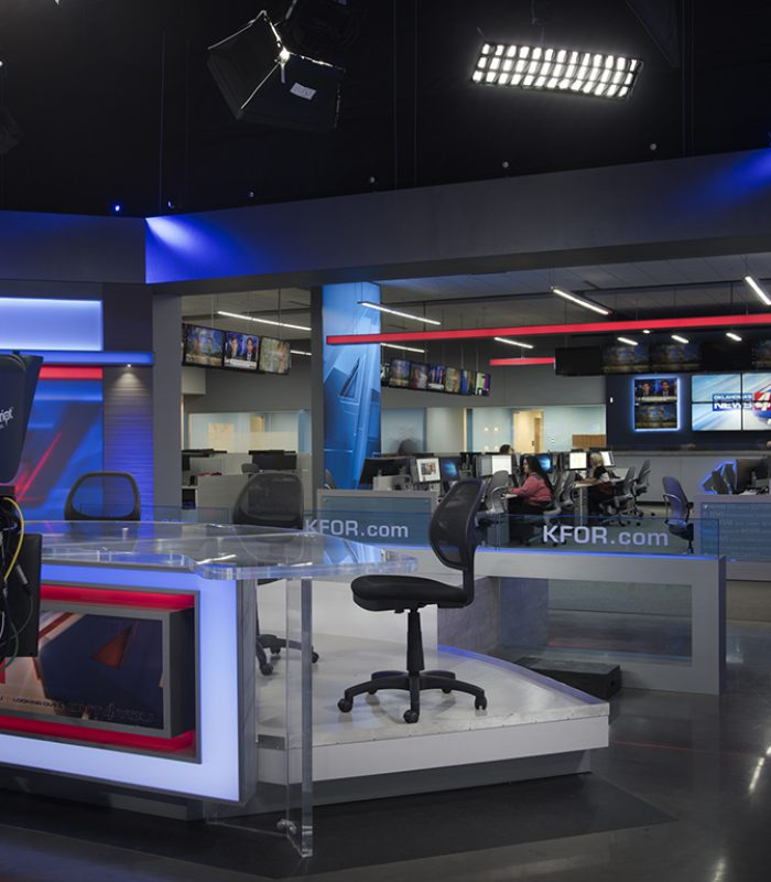 KFOR Studio Facilities