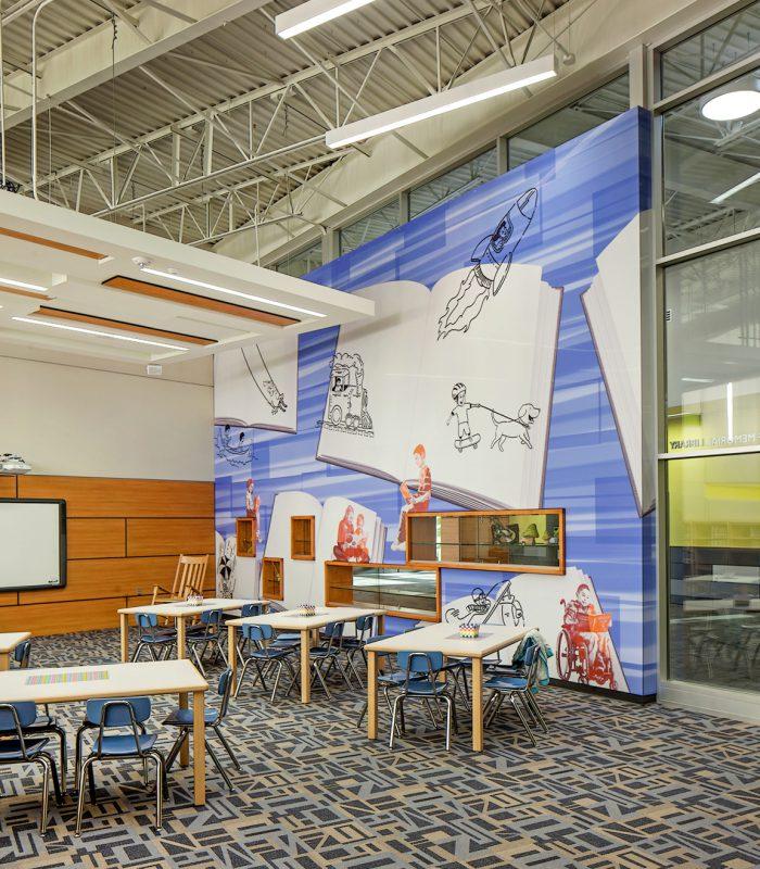 Omaha Public Schools Gateway Elementary, Kessler Photography