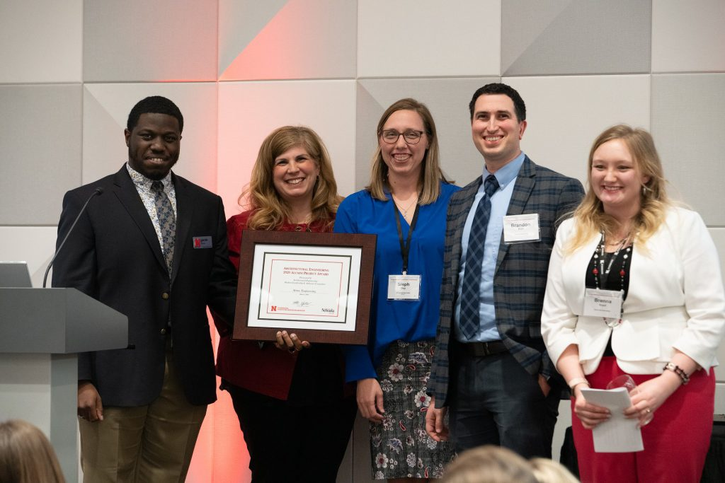 Alvine Engineering Wins Alumni Award