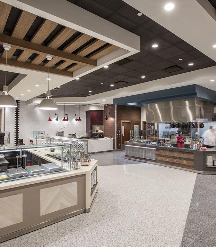 Kitchen at OU Dunham & Headington Residential Colleges