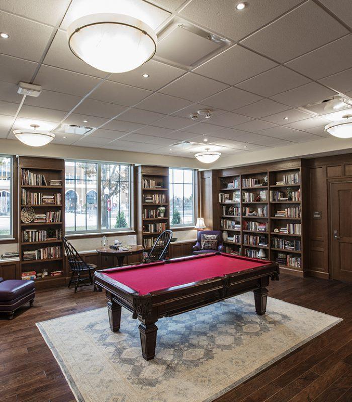 Lounge at OU Dunham & Headington Residential Colleges