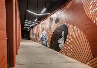 Orange Bricktown Underpass