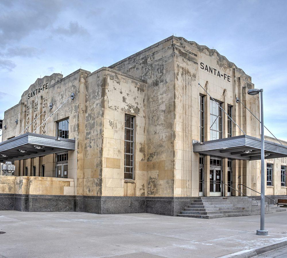 Exterior view of the Santa Fe Terminal in Oklahoma City
