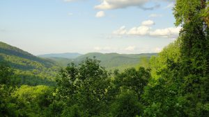 Outdoor view of the Tennessee landscape.