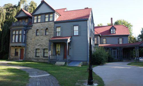 NPS James A. Garifield Homestead Exterior