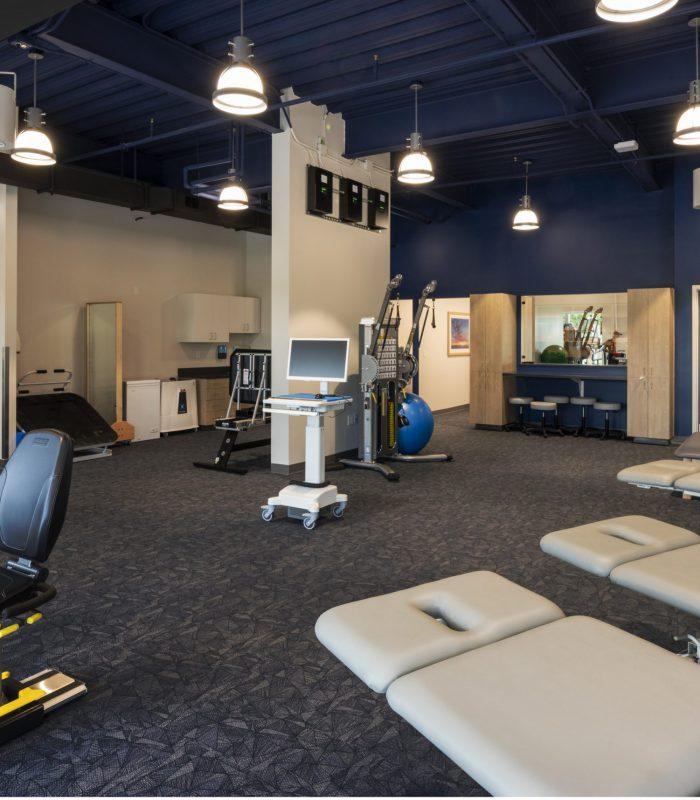 SSM Shawnee Ambulatory Care Center Exercise Room Interior