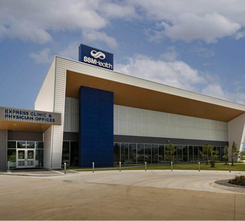 SSM Shawnee Ambulatory Care Center Exterior View